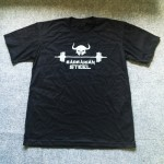 Barbarian steel black T-shirt
