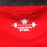 Barbarian steel red T-shirt